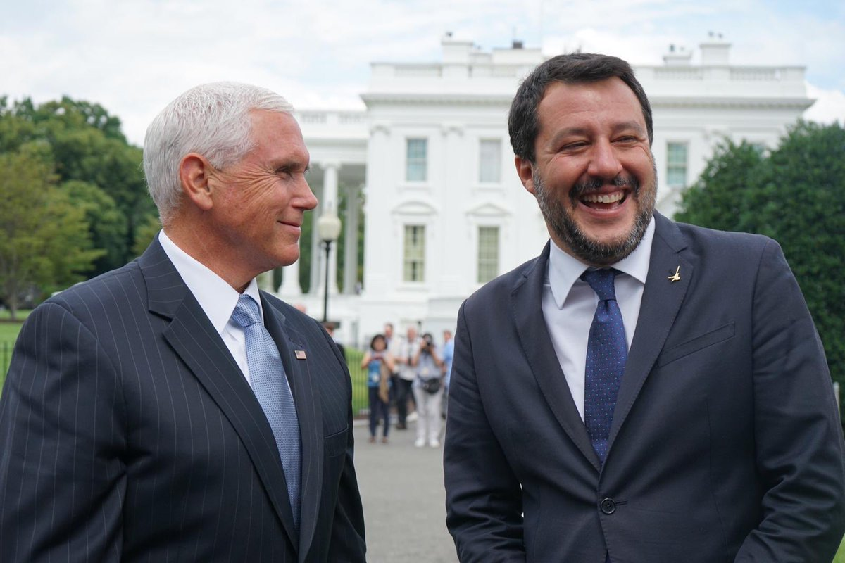 Salvini's trip to the US