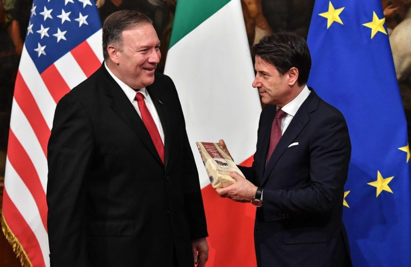 The sense for Italy of Pompeo's visit