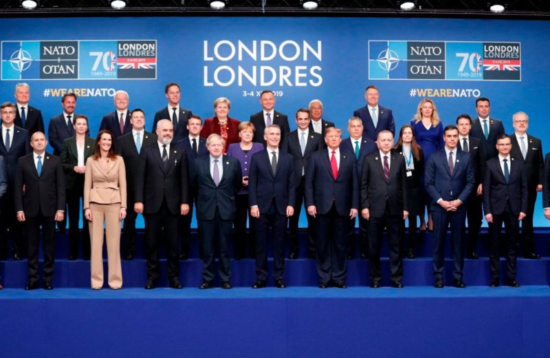 NATO's identity crisis is on show in London