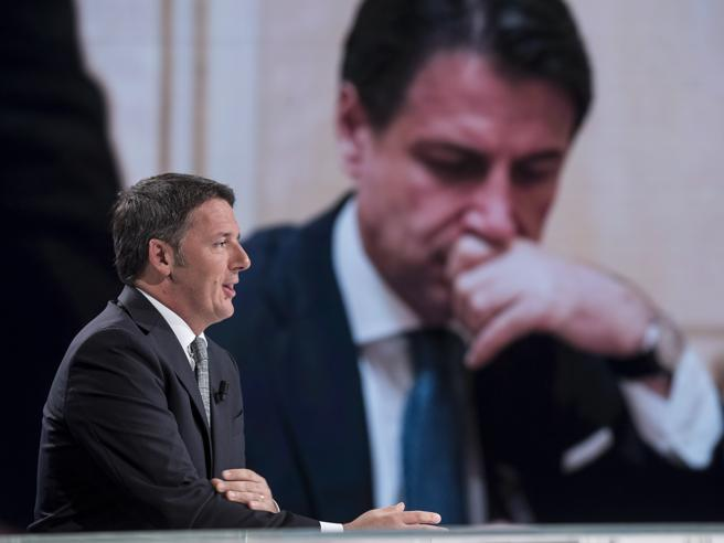Renzi against Conte, again